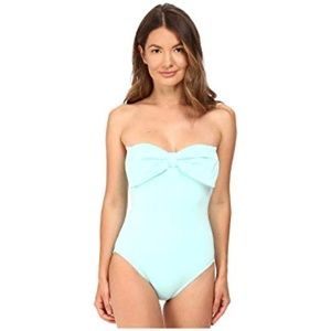 kate spade new york Bandeau Bow One-Piece Swimsuit